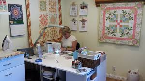 My Sewing Room Tour - The Crafty Quilter &  Adamdwight.com