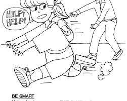 Download Stranger Danger Coloring Pages Ziho Coloring Coloring Home