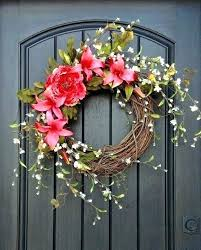 Image result for welcome wreath on front door