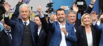 UE: Salvini encabeza movimiento populista que busca ganar elecciones parlamentarias