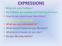 What Is Your Hobbies Hobbies And Sports