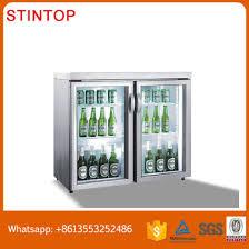 counter top cooler glass door mini beer bar mini fridge
