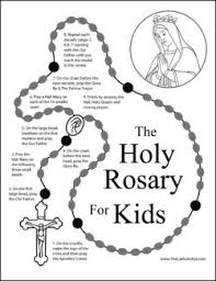 See our coloring sheets collection below. Rosary Coloring Pages The Catholic Kid