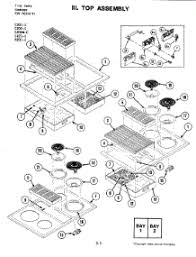 jenn air wiring diagram schematics and wiring diagrams parts for jenn air jed8430bdb cooktop liancepartspros