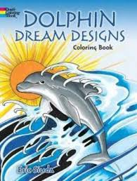 Dolphin Dream Designs Coloring Book Bol Com Dolphin Dream Designs Coloring Book Erik Siuda