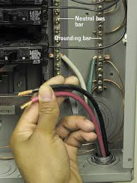 installing a 240 volt receptacle how to install a new electrical attach wires enlarge image