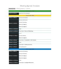 Cool Agenda Templates Free Meeting Agenda Template Simple