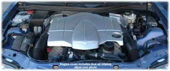 chrysler crossfire srt6 engine. with the supercharged srt6 engine had considerably more power again without instanton brute force but it certainly moved effectively and chrysler crossfire srt6