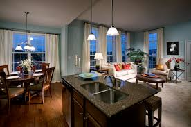 Kitchen With Blue Walls Fresh And Bold Design Ideas From Deer Run