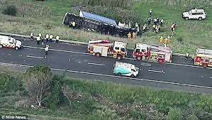 Truck crash causes 7km jam on the Hume Highway | Daily Mail Online