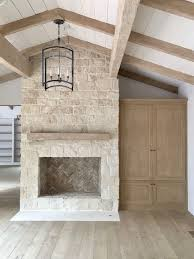 white stacked stone fireplace 232 best f i r e p l a c e s images on