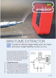 weekend project mini fume extractor pdf