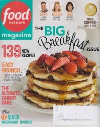 food network magazine 2015. Simple Network Food Network Magazine April 2015 The Big Breakfast Issue Amazoncom Books Inside N