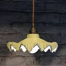 welby primrose ceramic pendant light