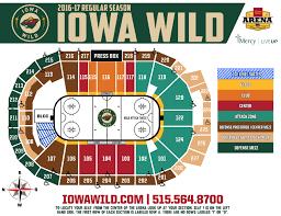 Minnesota Wild Seating Chart Iowa Related Keywords