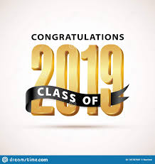 Congratulations Design Class Of 2019 Congratulations Gold Lettering Graduation 3d