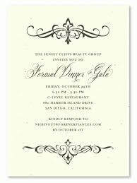Formal Invitation Template Formal Party Invitation Template Purplemoonco 4