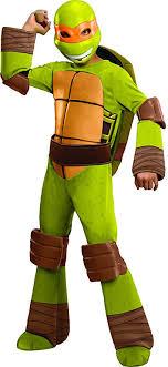 ninja turtles michelangelo. Contemporary Ninja Teenage Mutant Ninja Turtles Deluxe Michelangelo Costume Small Throughout E