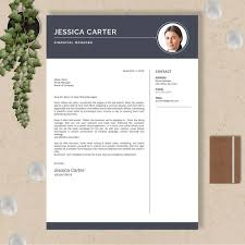 Design Cv With Cover Letter Icons And Multiple Pages No 011