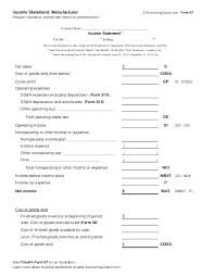 Year To Date Profit And Loss Statement Template Company Financial Statement Requirements Template Year End 3