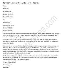 Employee Performance Letter Sample Appreciation Letter For Good Performance For Employee