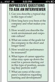Good Questions To Ask The Interviewer Impressive Questions To Ask An Interviewer Job Interview