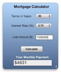 Calculate A Mortgage Loan Apple Downloads Dashboard Widgets Mortgage Calculator