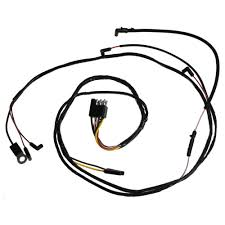 Engine gauge feed wiring harness with 3 speed heater gauges v8 1965