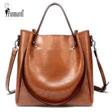 <b>Funmardi Retro</b> Hobo <b>Women</b> Handbags PU Leather Shoulder Bag ...