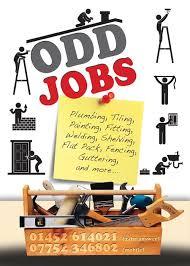 Flyer Jobs Odd Jobs Flyer Cool Business Cards Handyman Logo Unique