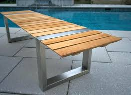 modern outdoor patio furniture. Brilliant Modern Modern Outdoor Patio Furniture Teak  Bench Sets  With Modern Outdoor Patio Furniture
