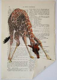 clever book page art