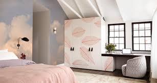 Rustig Bedroom Scandinavisch Slaapkamer Fotobehang Stickers