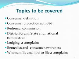 consumer protection act presentation