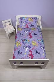 my little pony 4 in 1 toddler bed set