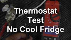 no cool refrigerator how to test the thermostat youtube Mini Fridge Thermostat Wiring Diagram no cool refrigerator how to test the thermostat haier mini fridge thermostat wiring diagram
