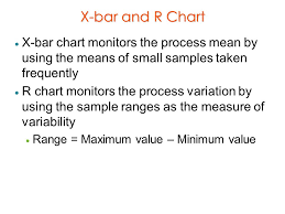 X Bar And R Control Charts Ppt Video Online Download