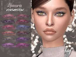 Sims 4 — IMF Amora Eyeshadow N.177 by IzzieMcFire — Amora Eyeshadow N.177  contains 12 colors in hq texture. Standalone | Eyeshadow, Glitzy glam, Sims  4