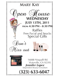 mary kay open house flyer template google search projects to mary kay open house flyer template google search