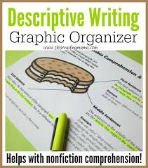 best descriptive writing images teaching ideas descriptive writing graphic organizer pack helps kids to both comprehend and compose