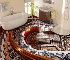 Die motive reichen von schönen stränden über wasserfälle und dschungellandschaften. 3d Boden Aufkleber Badezimmer