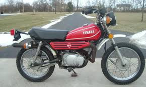 yamaha 80 dirt bike. from the numbers, we can deduce that bike is a 1974 model and gt80a. yamaha 80 dirt l