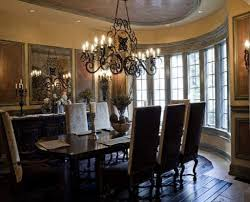 chandelier for dining room. Complete Traditional Room With Metal Dining Chandeliers Above Classic Chairs And Long Teak Table Chandelier For I