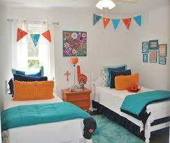 House Tour: Orange & Blue on Drake