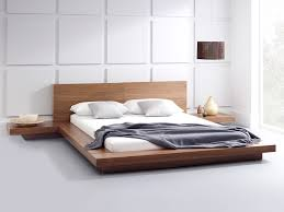 Marvellous Walnut Platform Bed King Pictures Inspiration