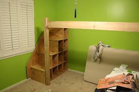 B Diy Loft Bed Free Woodworking Plans To Build A Twin Low Bunk