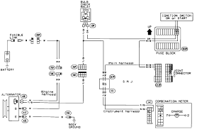 93 nissan d21 replaced alternator reconnecting battery ground fried Diagram For Alternator And Battery Diagram For Alternator And Battery #81 Car Battery and Alternator