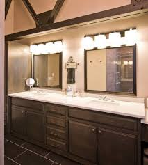 warm vanity lights