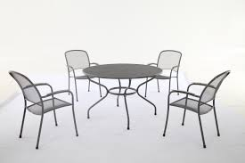 carlo 4 seater round table set