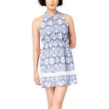 Maison Jules Size Chart Maison Jules Geo Print Halter Dress Dresses Apparel